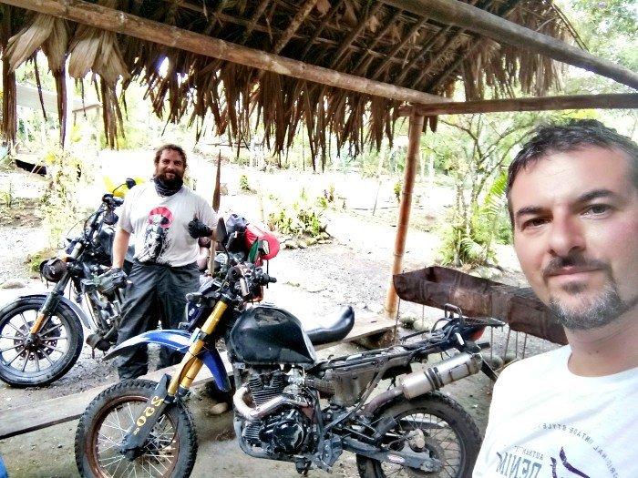 Ecuador in moto - io e Marco