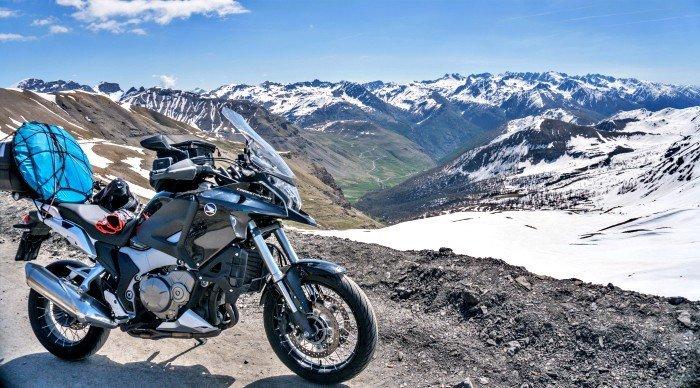 100 passi in moto - Col de la Bonette