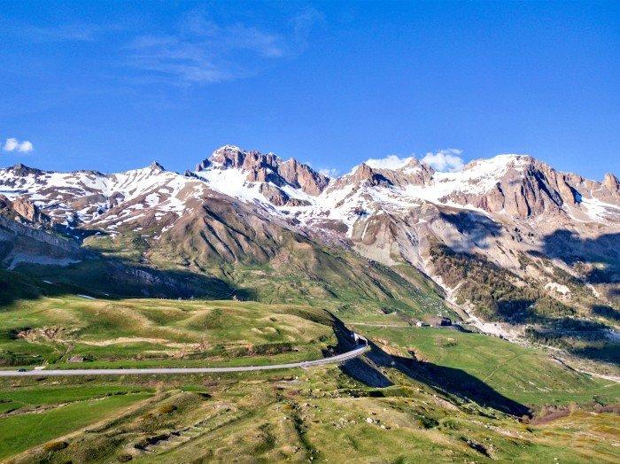 lautaret bici moto itinerario percorso francia vacanze passo col colle