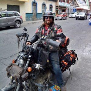 Ecuador in moto - Marco e la sua Harley-Davidson