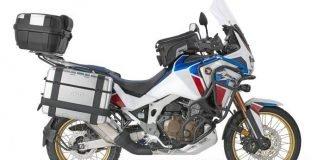 Honda Africa Twin Adventure Sports con accessori GIVI