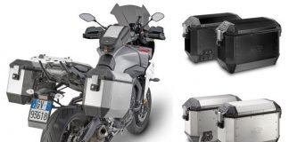 Kappa K'Mission valigie moto alluminio