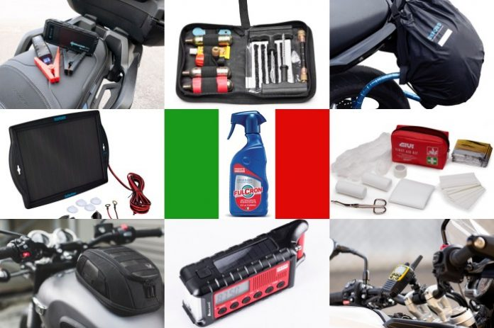 Viaggi in Moto - 10 accessori per partire tranquilli