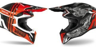 Airoh Wraap casco cross motocross enduro