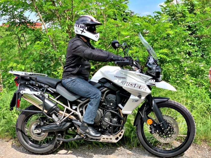 Stylmartin Continental stivale moto classic vintage triumph tiger