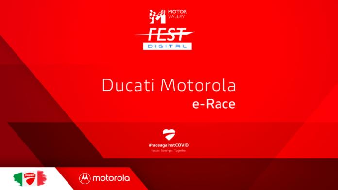 Motor Valley Fest Digital Ducati Motorola e-Race