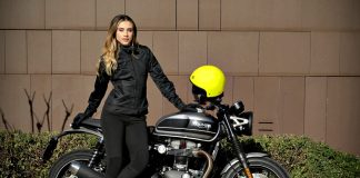 Motogirl Ribbed Leggings