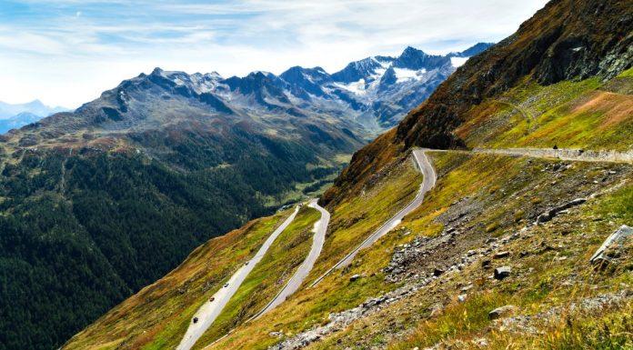 Passo Rombo in moto - Timmelsjoch