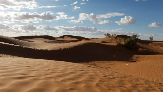 Tunisia Deserto Turismo in moto
