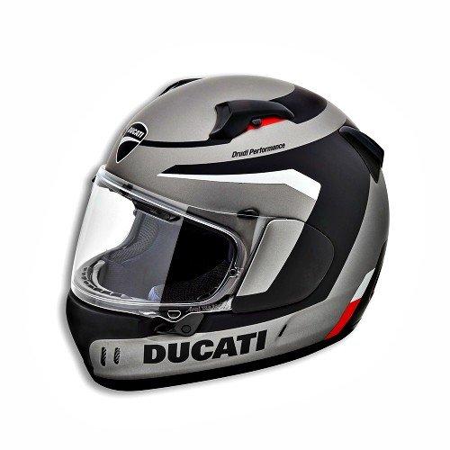 Ducati - Casco Black Steel Arai Renegade V