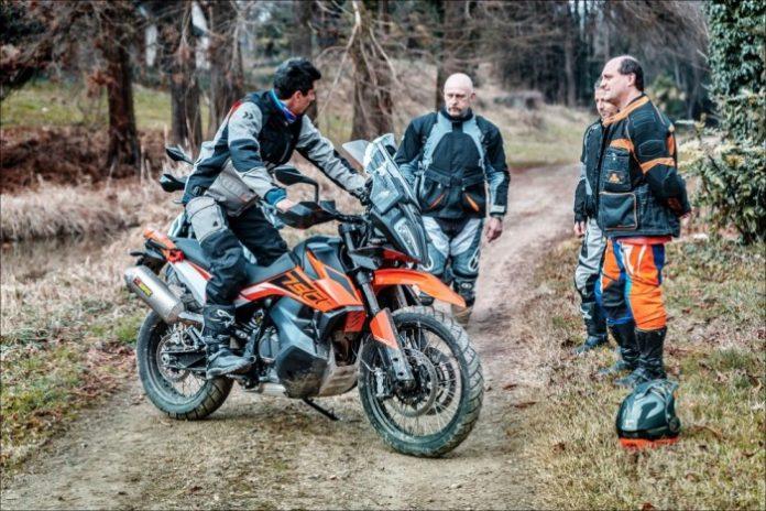 Corsi Maxi Enduro KTM e In moto col Gigi
