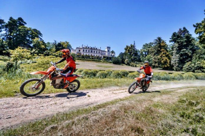 Corsi Enduro KTM e In moto col Gigi