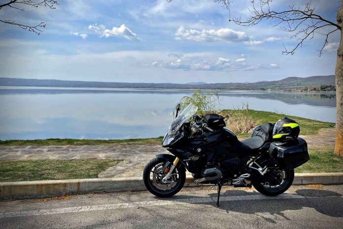 Lago di Bolsena in moto itinerario mappa cosa vedere