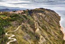 Marche in moto - Parco di San Bartolo - Fiorenzuola di Focara