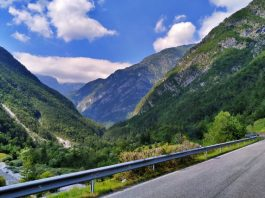Sella Chianzutan Friuli in moto