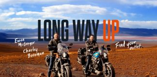 Long Way Up Harley Davidson Livewire Ewan McGregor