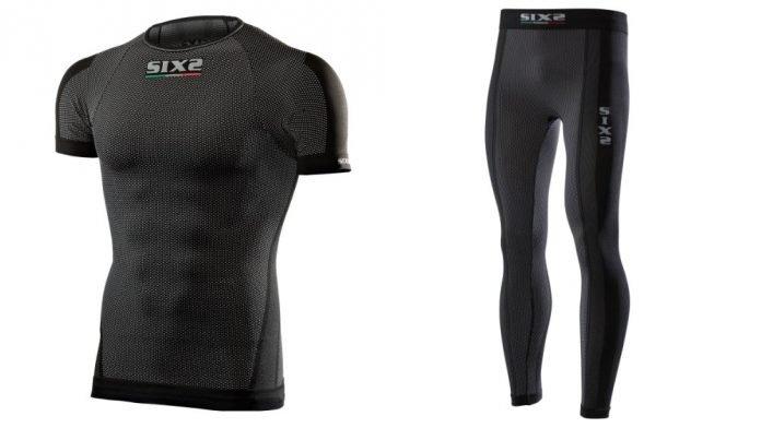 Sixs Carbon Underwear - Intimo Tecnico da moto