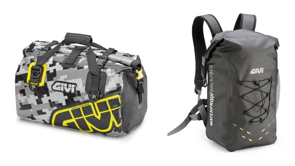 GIVI EA115 e EA121 borsa moto impermeabile