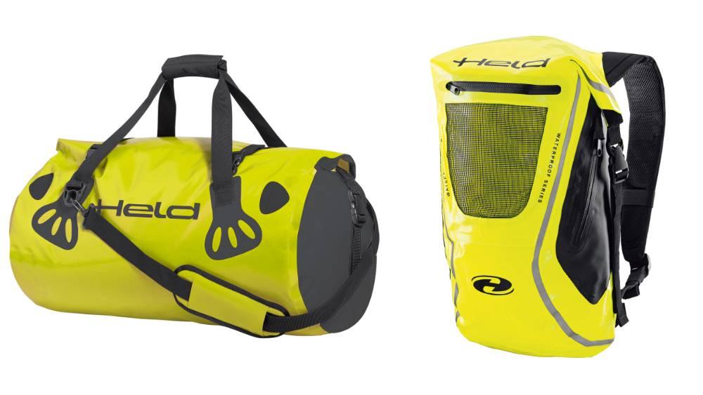 HELD CARRY BAG e ZAINO borsa moto impermeabile