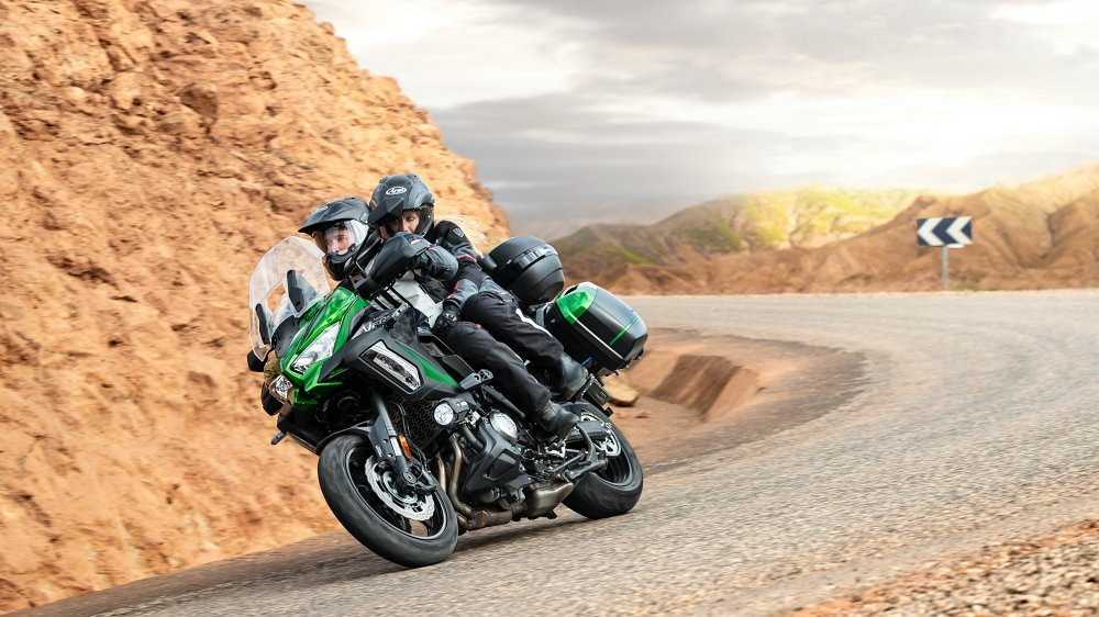 Versys 1000 SE 2021 Showa le migliori moto da viaggio