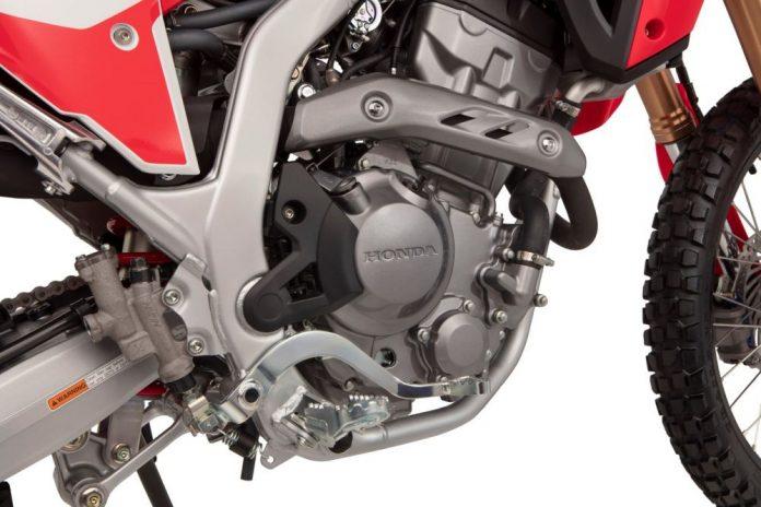2021 HONDA CRF300 Nuovo motore