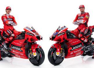Ducati Lenovo MotoGp Team 2021 - Miller e Bagnaia