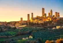 Toscana in moto - San Gimignano