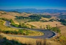 Chianti Toscana in moto
