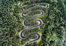 Transalpina in moto itinerario percorso vacanze - Romania mappa