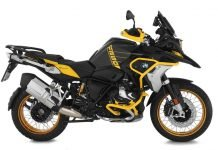 BMW GS: Edition 40 Years accessori Wunderlich