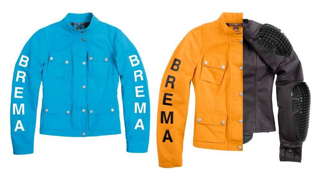 Brema Silver Vase Lady moto giacca