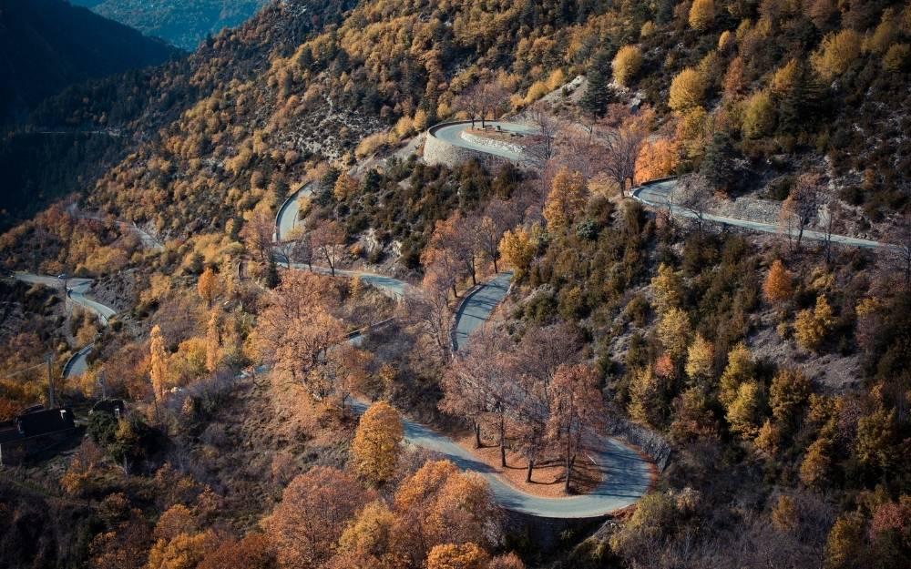 Col de Turini moto bici percorso itinerario tramonto viaggio francia