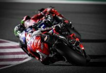 MotoGp del Qatar - La battaglia per il podio - Ph. Dorna Sports