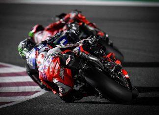 MotoGp del Qatar - La battaglia per il podio - Ph. Dorna Sports