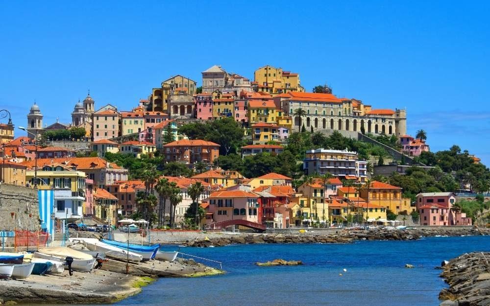 Imperia in moto - Strada costiera Riviera dei Fiori