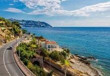 Liguria in moto - Strada costiera Riviera dei Fiori