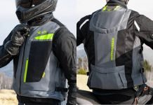 Motoairbag V3 moto airbag test video recensione prova impressioni