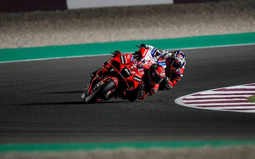 MotoGp del Qatar - Francesco Bagnaia - Ph. Ducati