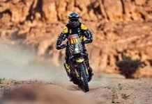 Stefan Svitko - Dakar 2021 - Brema moto