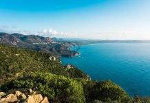 Strada panoramica Iglesiente SP83 itinerario moto sardegna sulcis iglesiente mare spiagge