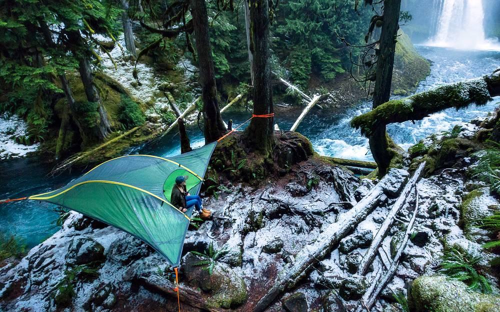 Tentsile Stingray tree tent tenda albero sospese amaca