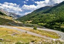 Colle della Maddalena moto itinerario valle stura passo