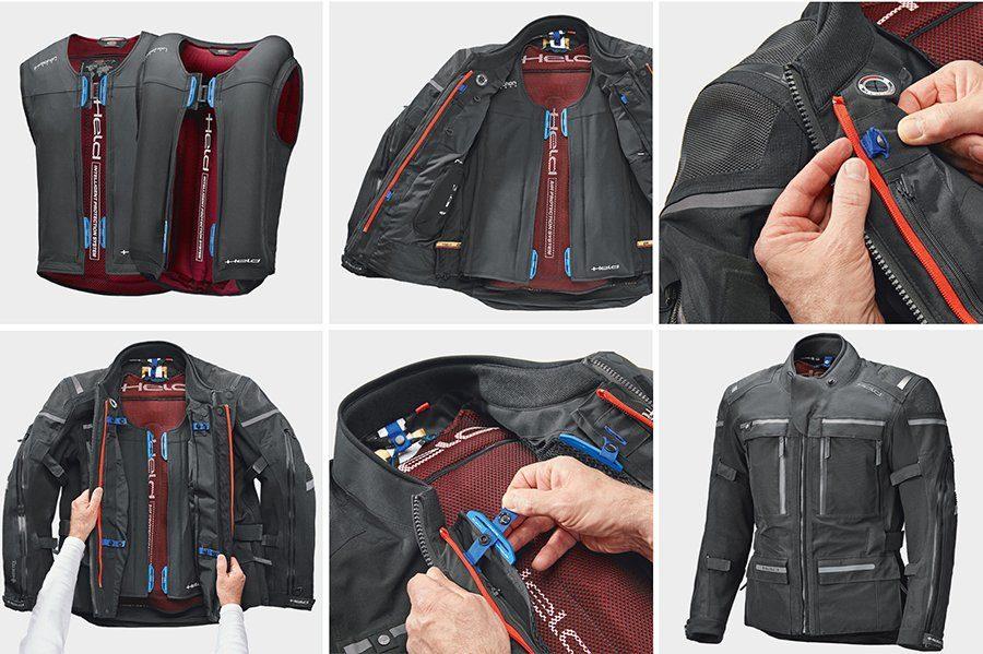 Held e-Vest Clip-in Airbag Elettronico