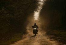Intrepida in moto itinerario strade bianche toscana umbria