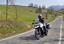 Alta Val Tidone - Le provinciali tra Pavia e Piacenza moto itinerario strada percorso caberg horus