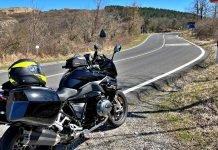 Passo della Futa Raticosa Mugello moto curve caberg