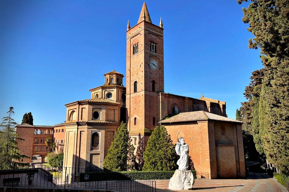 Abbazia di Monte Oliveto Maggiore siena asciano crete senesi calanchi