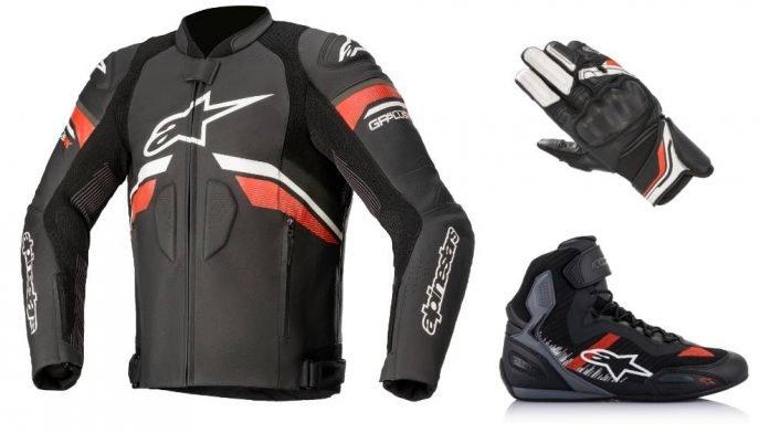 Alpinestars Rideknit e Booster jacket shoe gloves