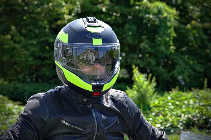 Caberg Levo prova Test Recensione casco apribile viaggio moto modulare