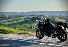 crete senesi siena moto itinerario percorso toscana